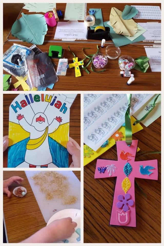 Messy Church activities
