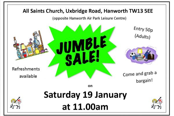Jumble Sale Poster