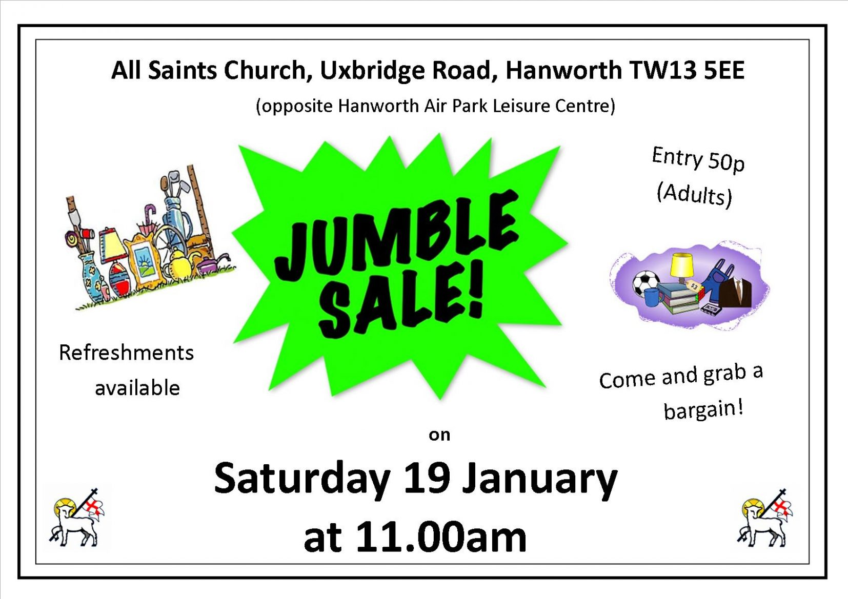 Jumble Sale Poster